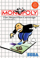 MONOPOLY SEGA Master System Framed Print (Man Cave Picture Game Gaming Art)