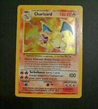 Charizard Holo Pokemon Card 4/102 Set Base ITA