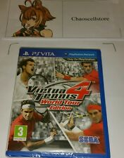 VIRTUA TENNIS 4 PSV Nuovo Sigillato UK PAL Gioco Sony PLAYSTATION VITA PS VITA
