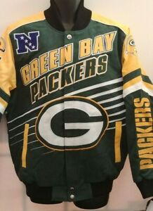 Green Bay Packers NFL Jacket  by G - 111 Adult 2XL Free Ship