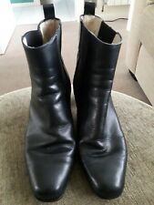 BLACK BALLY BOOTS SIZE 5 1/2