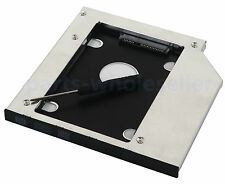 2nd SSD HDD Hard Drive Caddy Adapter for HP ZBook 15 17 Workstation SU-208CB DVD