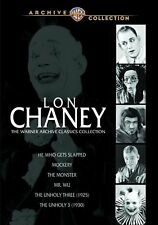LON CHANEY - WARNER CLASSICS COLLECTION (6 movie set)  Region Free DVD - Sealed