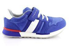 Tommy Hilfiger Baskets pour Enfants Bas Fermeture Scratch Chaussures Sneakers 31