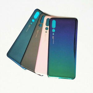 For Huawei P20 Pro 3D Glass Rear Back Battery Cover Door Housing Sticker Aurora