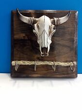 COW HEAD WALL MOUNT KEY HOLDER