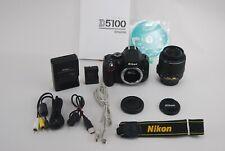 Nikon D5100 Digital SLR Camera w/ 18-55mm VR Zoom Lens [N.Mint] #672435-1498