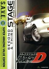 Initial D: Stage Two and Stage Three - S.A.V.E. [New DVD] Boxed Set