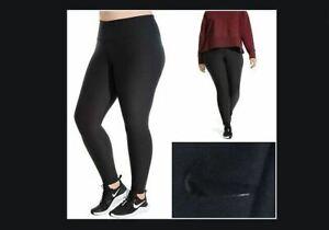 Nike Womens Sportswear Tight Fit Sculpt Victory Power Blk AA8280-010 Sz Plus 2X