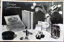 Cigars/Camera/Wristwatch 1952 Realphoto Advertising Postcard