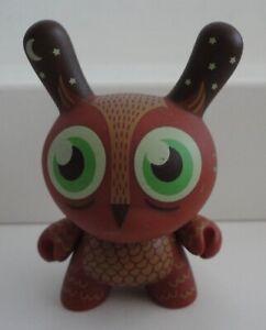 Kidrobot Dunny Endangered Series TAD CARPENTER OWL Vinlyl Figure 3/20 2009