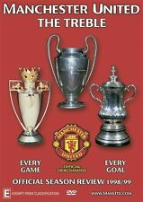 Manchester United : The Treble Official Season Review 1998/99 DVD New & Sealed