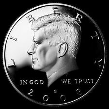 2008 S Kennedy Half Dollar Mint Silver Proof Coin from U.S. Silver Proof Set