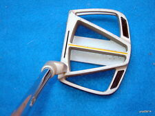vintage WALTER HAGEN 'clam-cage' style PUTTER~pewter head T3 steel shaft 35""
