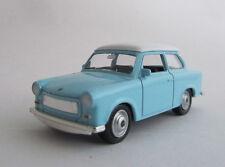 Welly Trabant 601 / Hellblau/Weiss / Druckgussmodel / Nex Models / 1:60 /OVP/Neu