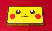 Pokemon Center Original New Nintendo 2DS LL Pikachu Edition Rare Free Japan