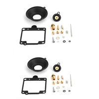 2x Carburetor Carb Rebuild Repair Kit For YAMAHA XS 400 SE Special 1980-1982 81