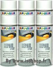 DUPLI Aérosol peinture Primaire Mastic finition Blanc REPAIR Spray 6x400ml