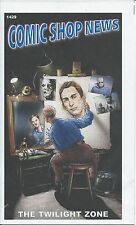 Comic Shop News Csn 1429 The Twilight Zone Vfnm Promo Giveaway Spiderman Mini