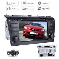 """For Mazda 3 2004-2009 7"""" 2DIN Car DVD Player GPS Sat Navi Stereo Radio +Camera"""