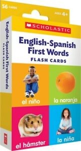 Flash Cards: English-Spanish First Words (Cards)
