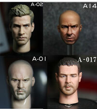 VeryHot 1/6 Super Star Male Head Sculpt Fit for 12'' Action Figure U.S Seller