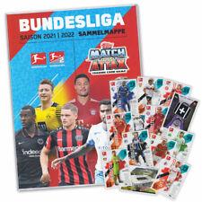 Match Attax Fußball Bundesliga 2021/2022 -  Sammelalbum + 40 Karten Starter-Set