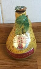 Very rare miniature ceramic bottle from LUXARDO ITALY, Pear shaped