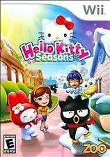Hello Kitty Seasons (Nintendo Wii, 2010) NEW and Sealed