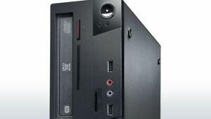 Lenovo Thinkcentre Desktop Computer M73 SFF I7-4770/3.4 4C 4GB 500GBHDD W7P-W8P6