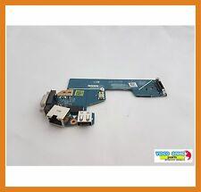 Puerto USB VGA LAN Dell Latitude E5530 USB VGA LAN Port LS-7908P
