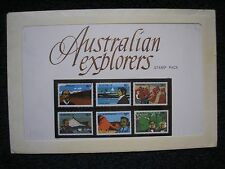 Australia Explorers Stamps Mint in Pack