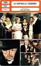 Fiche Cinéma. Movie Card. La sentinelle endormie (France/Italie) 1966 J Dréville
