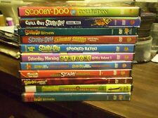 (16) Scooby-Doo Childrens DVD Lot: Chill Out  Christmas  Batman Safari Creatures
