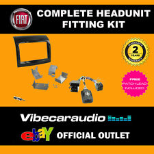 Connects2 CTKFT09 Fiat Ducato 2012 Complete Double Din Radio Installation Kit