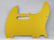 Bright MIRROR GOLD SCRATCH PLATE Pickguard to fit USA/Mex TELECASTER Tele