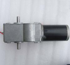 GW63ZY DC 24V 20RPM 20N.m High Torque 12mm Dual Shaft Turbo Worm Gear Motor