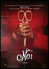 NOI US 2019 Manifesto Film 2F Poster Originale Cinema JORDAN PEELE HORROR