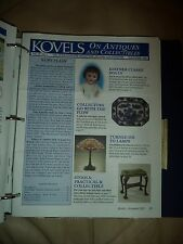 Kovel's Antiques Monthly Newsletter Volumes 28-34