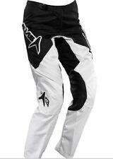 ALIAS MX Pantalon moto motocross A2 blanc noir 24 US  32 - 34  FR  junior neuf