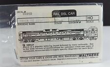 Walthers Decals 22890 ATSF Santa Fe Rail DSR Car Black HO Scale