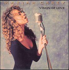MARIAH CAREY VISION OF LOVE 45T SP 1990 CBS 655.932 DISQUE NEUF / MINT