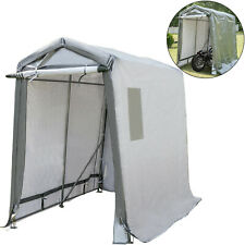 Portable Storage Shed Motorcycle Cover Tool Lawnmower Shed 6x8x7.8'