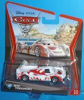 2011 Disney Pixar Cars 2 Shu Todoroki #22 WORLD GRAND PRIX   NEW VHTF