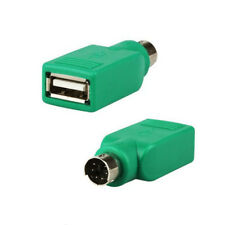 USB Male to Ps2 Ps/2 Female for Keyboard Mouse Mice Adapter Converter