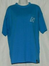 New Balance Men's Pocket T-Shirt Rounded Edges Blue Size L