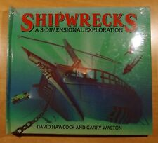 Shipwrecks: A Three-Dimensional Exploration 1993 Pop-Up Book NEW in Shrinkwrap