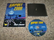 Airport 2000 Volume 1 (PC, 1998) Near Mint Game wiht manual
