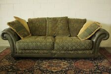 DIVANO CLUB CHESTERFIELD / CHESTER PELLE VERDE GREEN / INGLESE / ORIGINAL