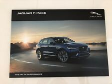 OFFICIAL JAGUAR F PACE PRINTED BROCHURE LATEST 2017 VERSION